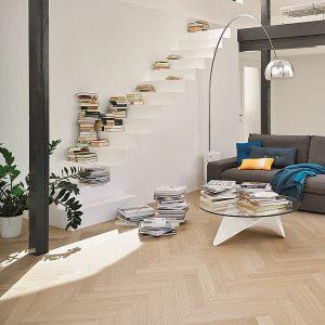 Zdjęcie Podlogi drewnianej zaaranżowane wnętrze