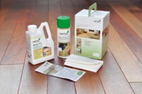 zdjęcie produktów do pielęgnacji podłogi
