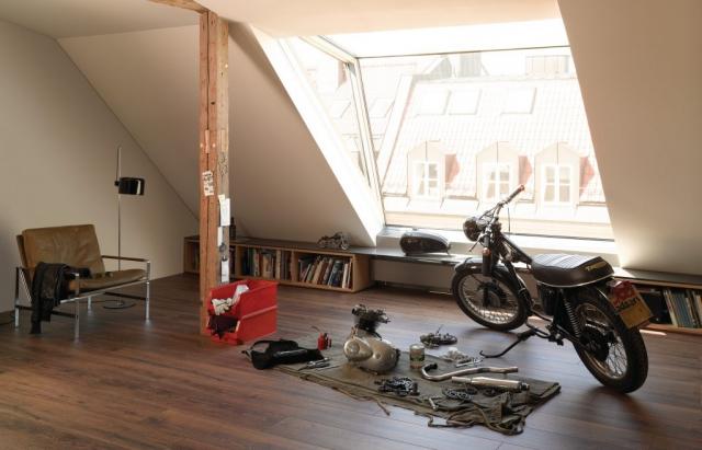 prezentacja wnętrza panele podłogowe laminowane 8