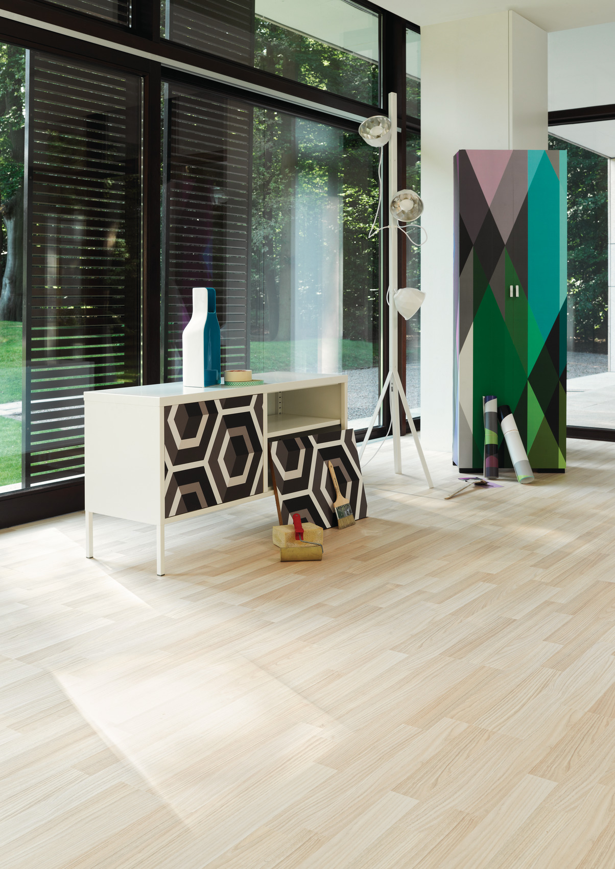 prezentacja wnętrza panele podłogowe laminowane 3